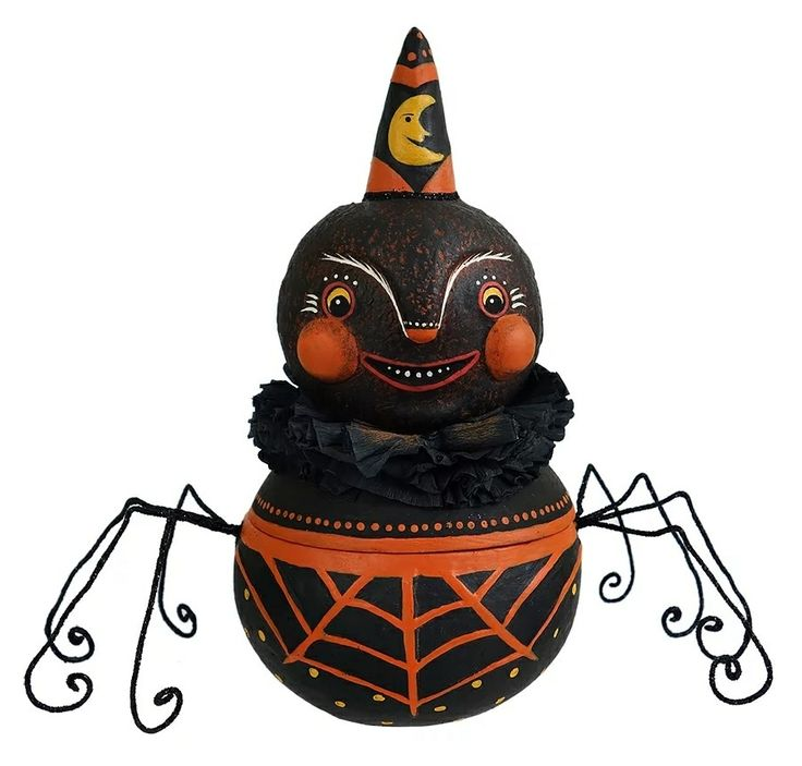 Snyder The Spider Candy Bowl By Johanna Parker