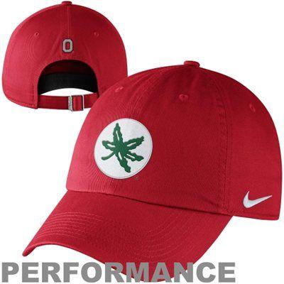 Nike Ohio State Buckeyes Mascot Heritage 86 Adjustable Performance Hat - Scarlet - FansEdge.com