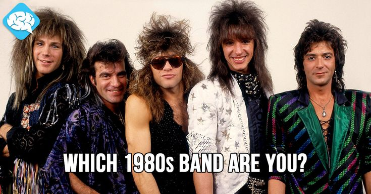 Which 80s Band Are You?   BrainFall
