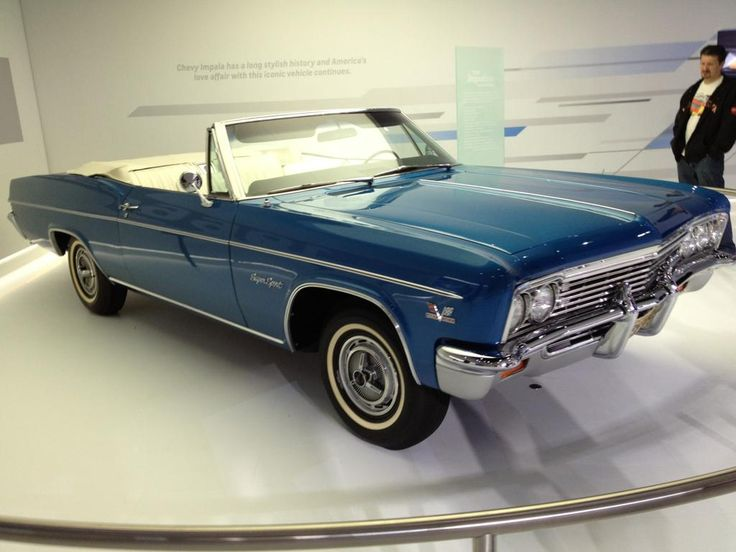 '66 Chevy Impala convertible...yes, please.