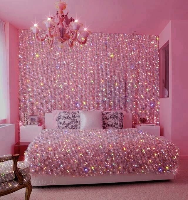Shine Glitter Sparkle Aesthetic Pink By Livtorresec Pink Glitter Wallpaper Pink Wallpaper Pink Tumblr Aesthetic Aesthetic pink room paint color