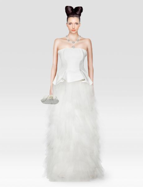 Look from latest collection of: Martine Wester, Menbur, Rina Cossack. GLAMSTORM.COM - virtual stylist.