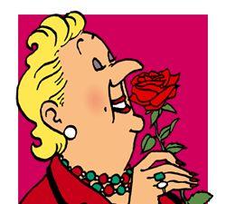 Bianca Castafiore! Aline for Tintin