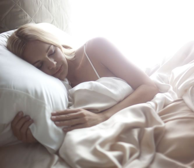 Sleeping on a satin pillow reduces friction to prevent breakage and frizzy hair. It's great for your skin to, reducing the stress on the skin so you won't wake up to sleep lines.