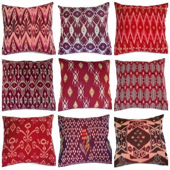 Mejores 11 imágenes de İkat Pillows - İkat Yastıklar en Pinterest ...