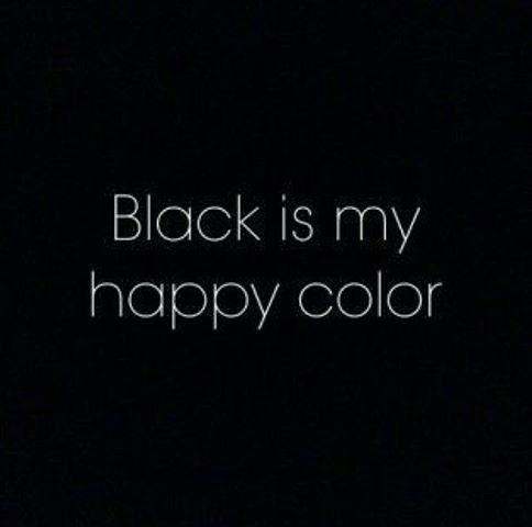 Блэк какой это цвет