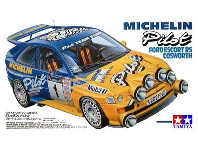 Boxart Ford Escort RS Cosworth 24153 Tamiya