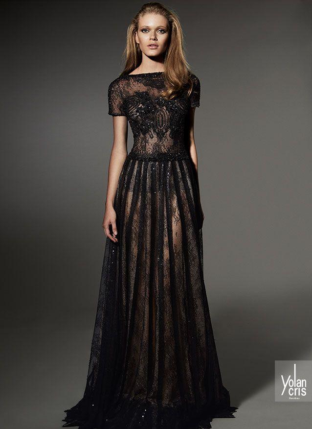 Prom Black Dress 1589