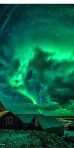 Aurora Borealis ~ Eggum Lofoten Norway