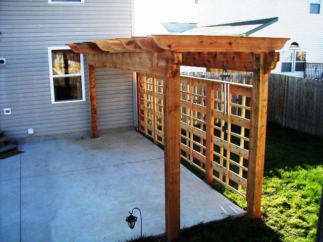 Arbor and trellis for privacy
