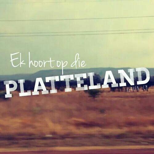 Platteland...