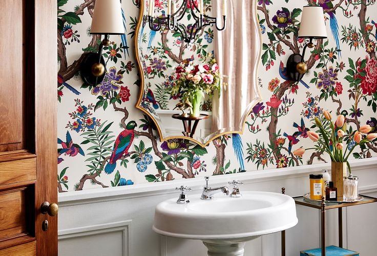 Boldly Beautiful: The Statement Powder Room