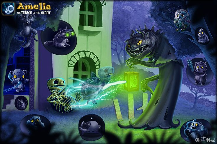 Amelia and Terror of the Night - interactive iOS Book - www.youtube.com/watch?v=ASeKyb_XSRI