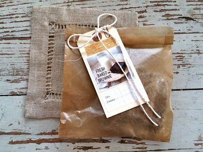 Mish Mash: Chocolate Chip Zucchini Brownies + NEW Waxed Paper Sacks...