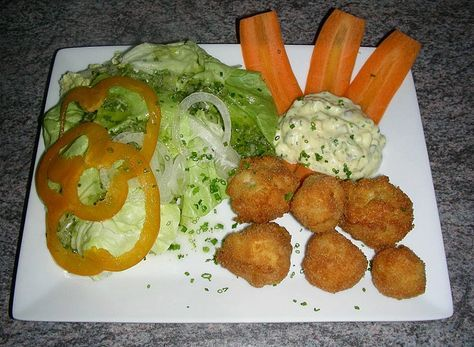 Gebackene Champignons mit Sauce tartare, ein beliebtes Rezept aus der Kategorie Pilze. Bewertungen: 6. Durchschnitt: Ø 4,1.