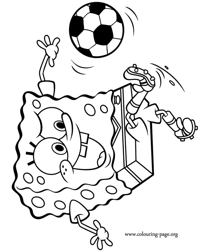 spongebob thanksgiving coloring pages - photo#24