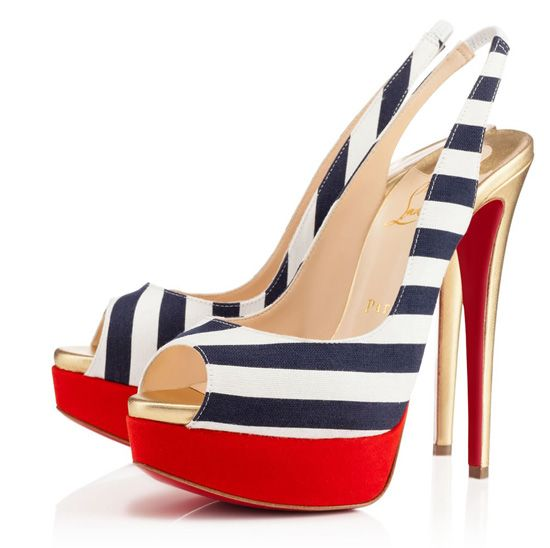 Christian Louboutin Slingbacks Frontera popular