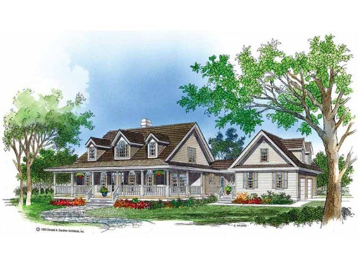 Eplans Farmhouse House Plan Porches Aplenty 2316