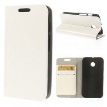 Forro Book Motorola Moto E Simple Cover Blanca $ 26.200,00