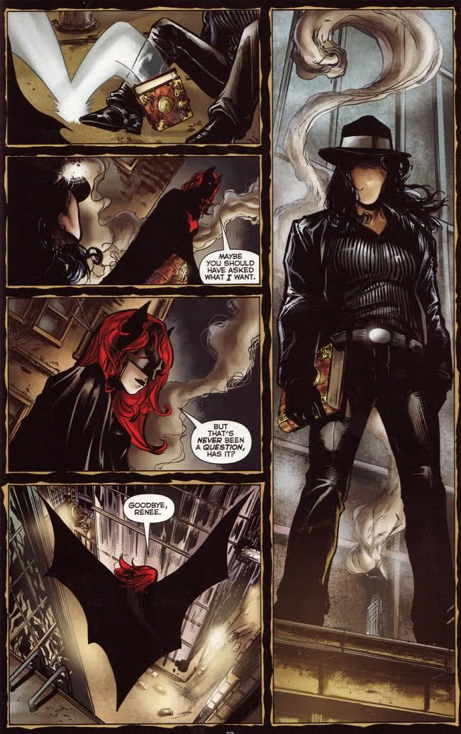 Batwoman and the question