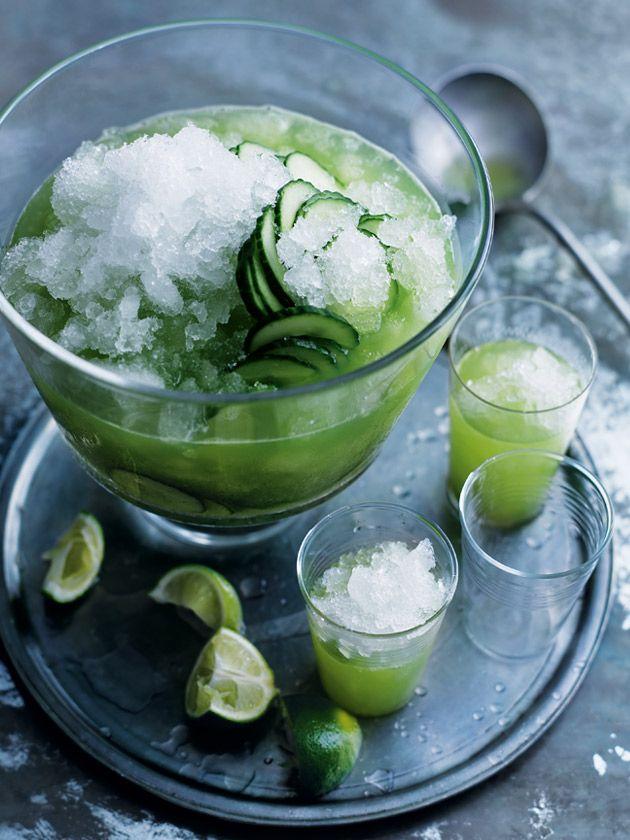 Lemongrass And Cucumber Caprioska | Donna Hay
