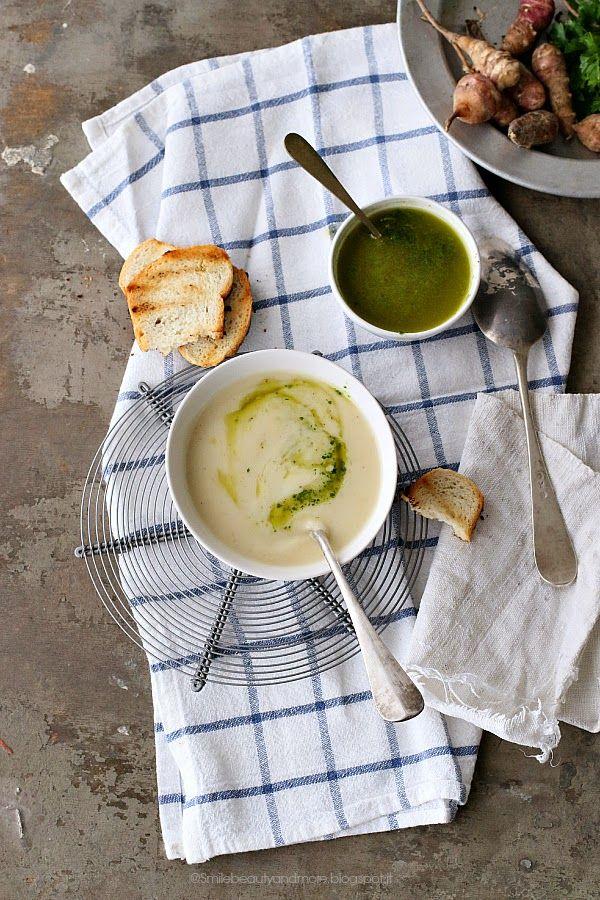 Zuppa di topinambour- Topinambour soup