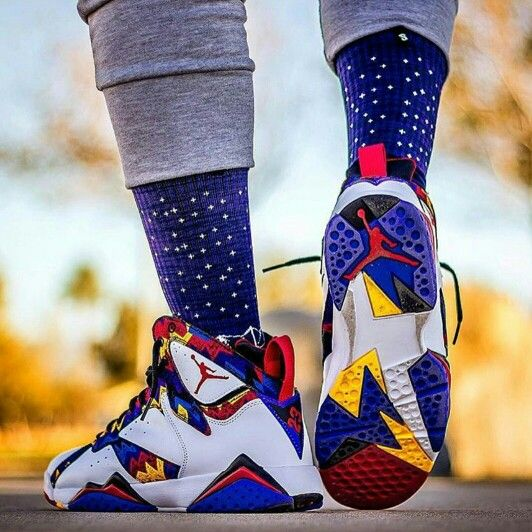 Jordan Retro 7 Sweater  Via Instagram: @solelysneakers