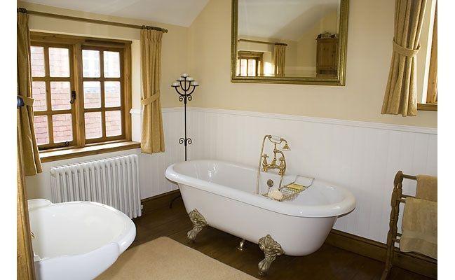 Baño retro-clásico