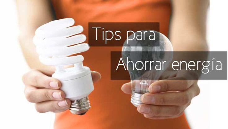 tips para ahorrar energia eléctrica en casa