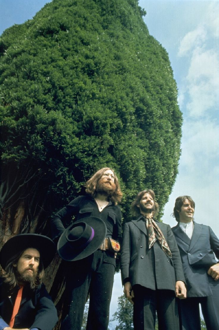 Last photo session of the Beatles on August 22, 1969. Sad day, but at least we have this photo, and that is cool.
