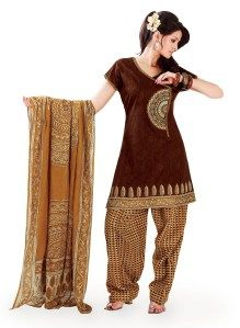 chocolate-cotton-angrakha-salwar-kameez