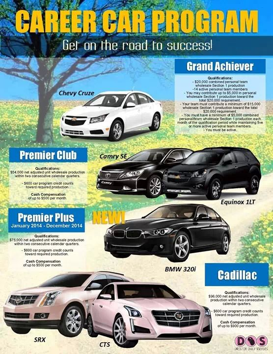 Mary Kay Career Car Program! To know more on how to get started, contact me through email at nbecka@marykay.com