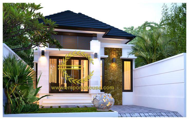 desain rumah 1 lantai 2 kamar lebar tanah 7 meter dengan