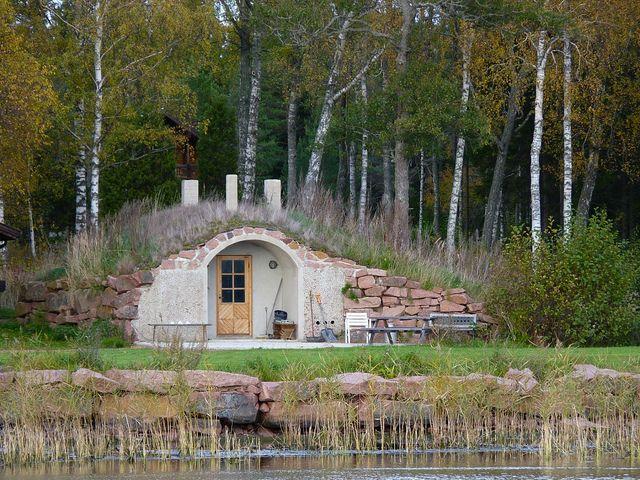 Finnish smoke sauna by evisdotter, via Flickr
