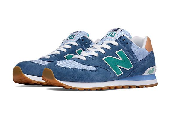 new balance 574 retro colors of the 50s