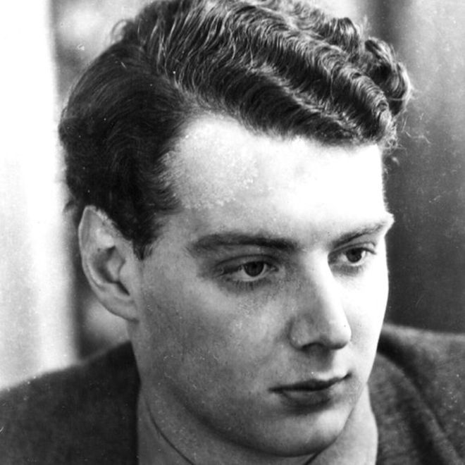 Guy Burgess pictured in c1935