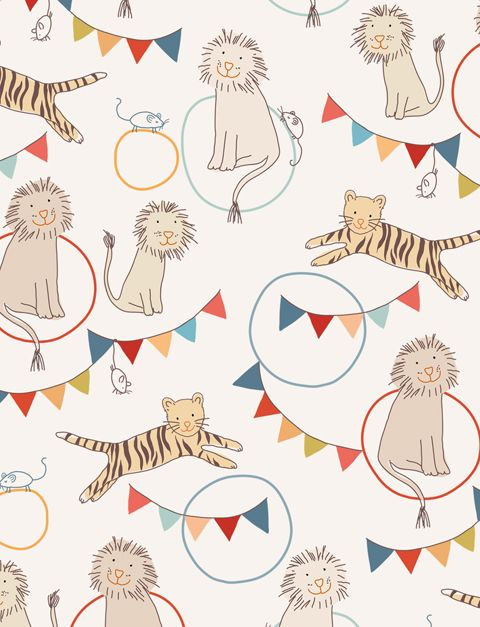 Fun wallpaper designs for kiddos!