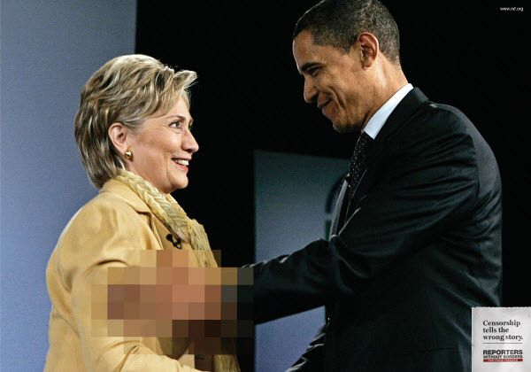 censorship tells the wrong story...