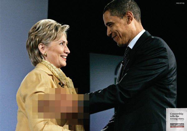 censorship tells the wrong story...
