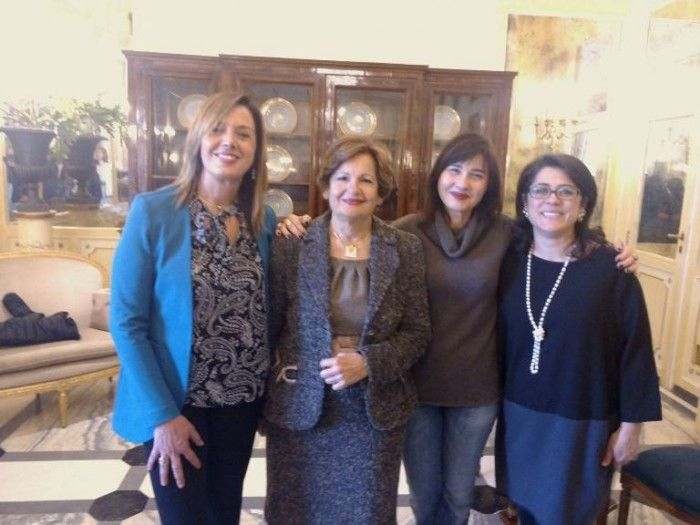 Lorella Di Porzio nuova delegata donne Vino Campania con Elena Martusciello e Maria Ida Avallone rispettivamente delegata Regionale e Presidente nazionale uscenti