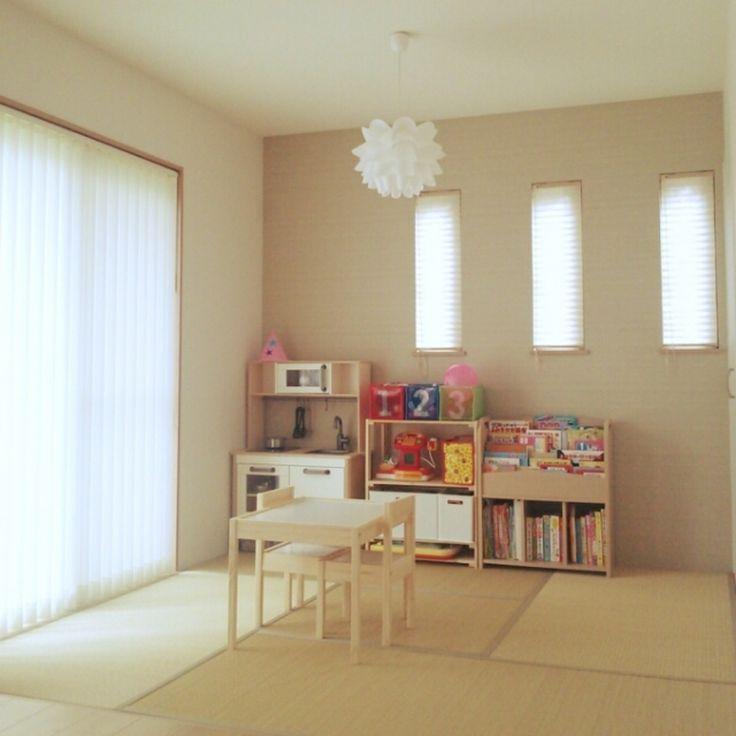 (2ページ目) 和室子供部屋のアレンジアイデア10選!おしゃれなインテリアを使って子供がのびのびできるレイアウトに! [ママリ]