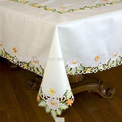 Bordado mantel hecho a mano 60x90 de sat n manteles - Manteles de mesa bordados ...
