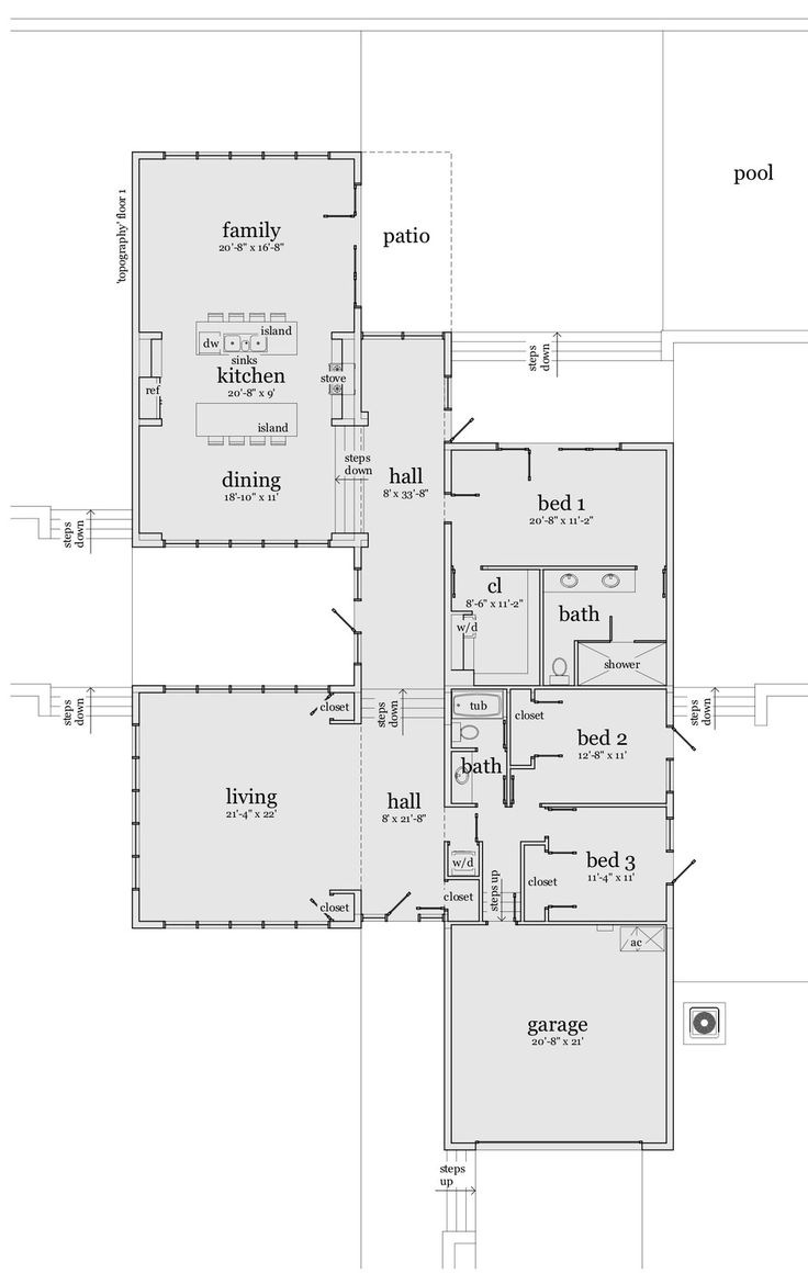 228 best house plans images on pinterest | house floor plans