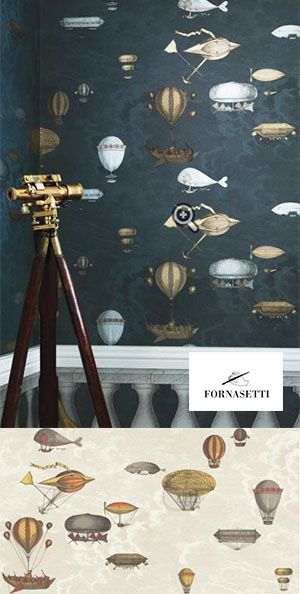 #Fornasetti takes a bold step in #wallpaper design, creating a truly stunning array of eclectic and whimsical wallpapers and murals which comes in an exciting range of colors and styles.