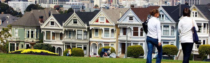 Painted Ladies | San Francisco Travel