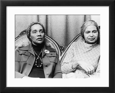 Coretta Scott King and Rosa Parks Photographic Print by Todd Duncan at Art.com