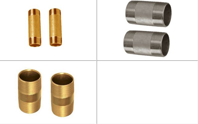 Brass Pipe Nipples Barrel Nipples #BrassPipeNipples #BarrelNipples