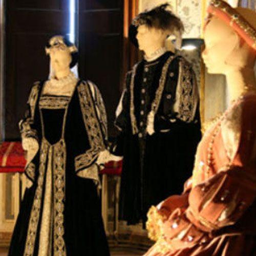 Fili d'Oro a Palazzo, il 500' a Castelvetro - Esposizione permanente di abiti rinascimentali