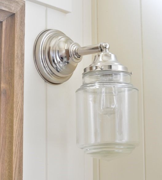 Cottage Bathroom Wall Lights : 25+ best ideas about Bathroom light fixtures on Pinterest Bathroom sinks, Cottage bathroom ...