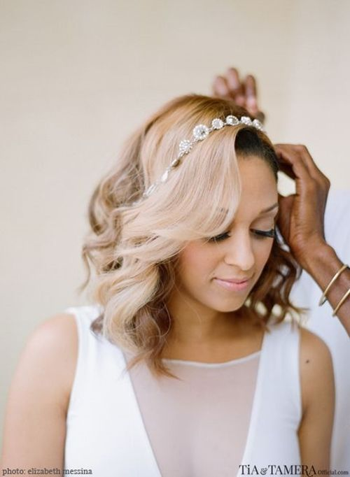 Short Hair Wedding Inspiration - Paper & Lace15